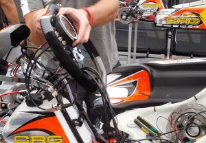 Mounting a UniGo to a kart's steering wheel