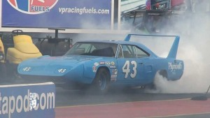 Number 43 on Petty Enterprise's Plymouth Superbird